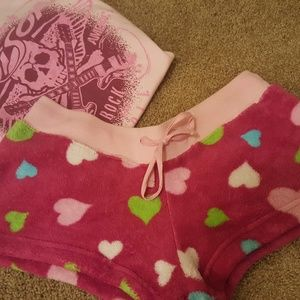 Pants - Heart Shorts